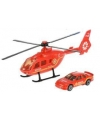 Reddingsteam speelset rode helikopter en auto