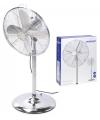 Staande ventilator zilver 40 cm