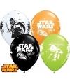Star Wars ballonnen 6 stuks