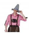 Roze Oktoberfest overhemd voor heren