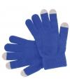 Smartphone handschoenen blauw