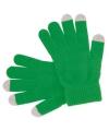 Smartphone handschoenen groen