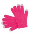 Smartphone handschoenen roze