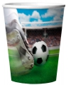 Voetbalveld bekertjes met 3D print