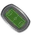 Voetbalveld borden 18 x 27 cm