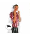 Super voordelige nood/regenponcho 30x