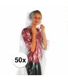 Super voordelige nood/regenponcho 50x