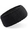 Warme haarband zwart