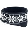 Warme haarband Nordic zwart