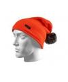 Oranje wintermuts XTM met bolletje