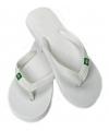 Witte slippers voor dames