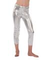 Kinder legging in het zilver